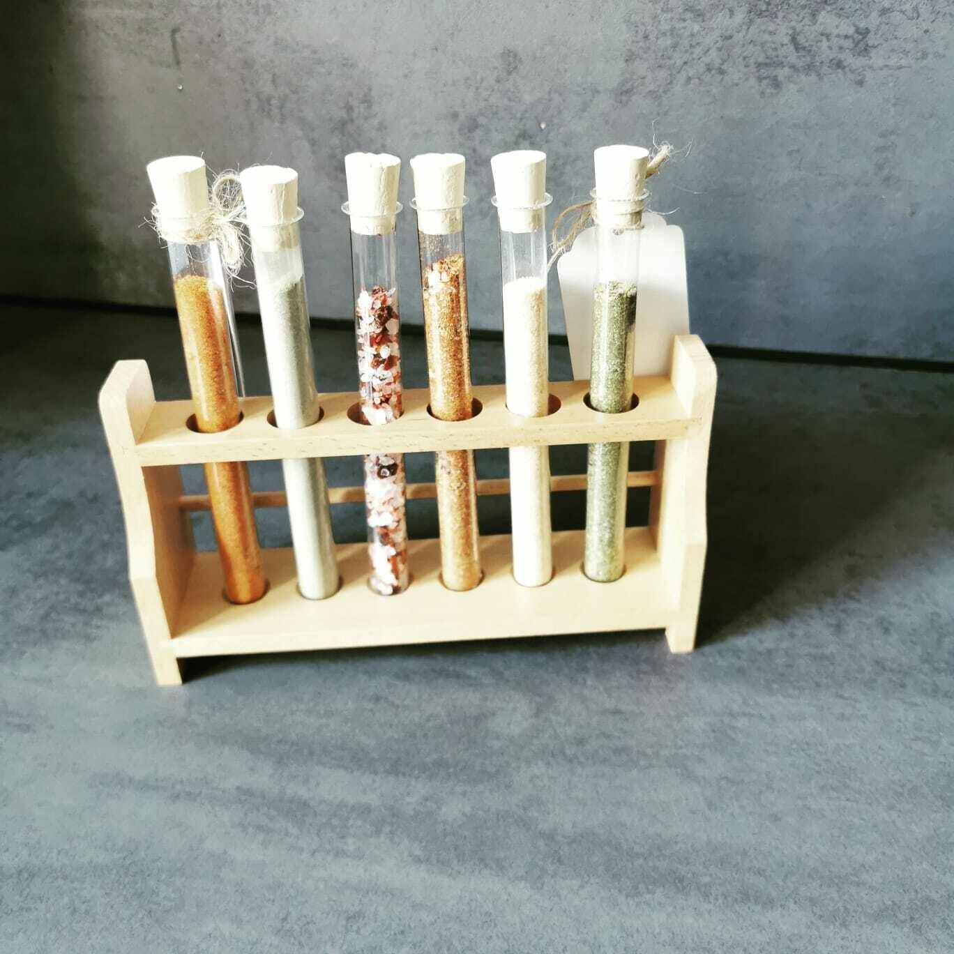 Gewürzset-Reagenzglas